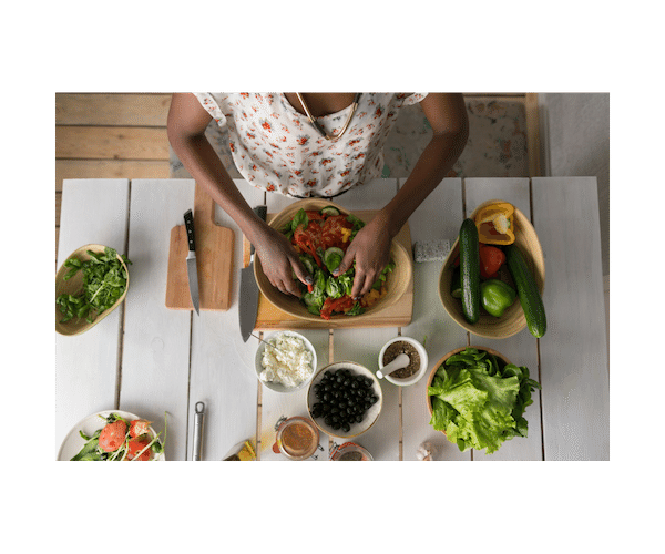 Cooking healthy meals